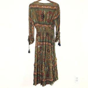 Anthropologie Dresses - Anthropologie Farm boho peasant dress size M